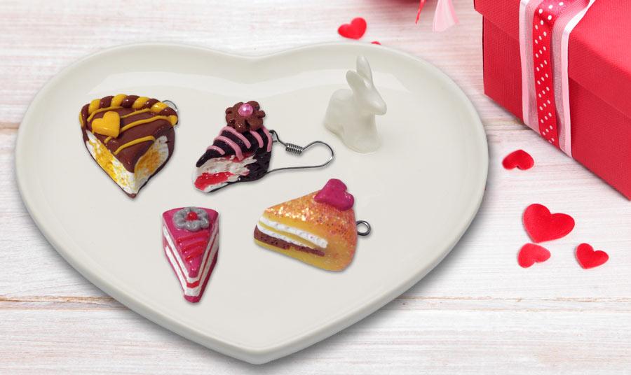 Pendientes little-cakes